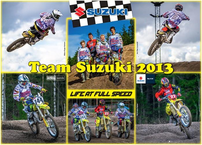 Team Suzuki 2013